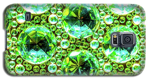 Cut Glass Beads 2 Galaxy S5 Case