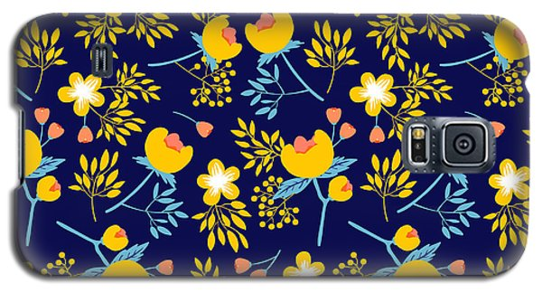 Branch Galaxy S5 Case - Cute Vector Seamless Pattern With by Vavavka