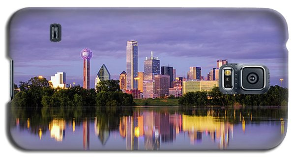 Dallas Texas Cityscape Reflection Galaxy S5 Case