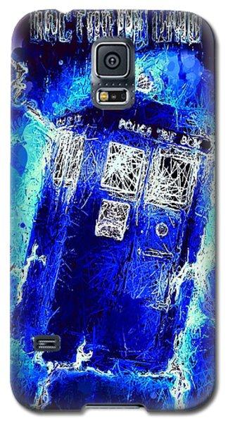 Doctor Who Tardis Galaxy S5 Case