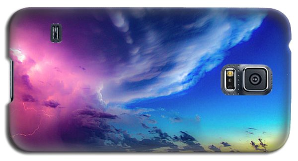 Epic Nebraska Lightning 007 Galaxy S5 Case