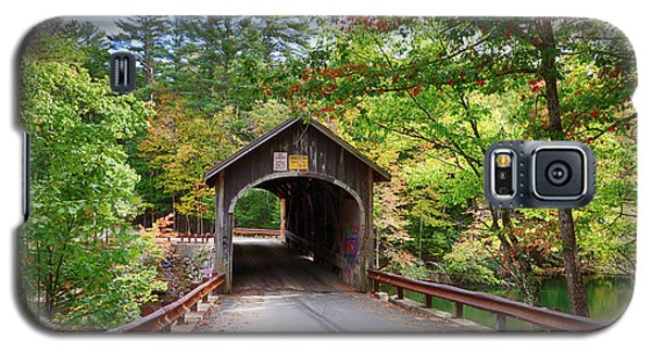 Fall Colors Over The Babs Covered Bridge Galaxy S5 Case