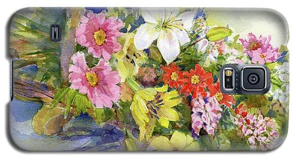 Flower Basket Galaxy S5 Case