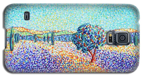 Lavender Field In Provence Galaxy S5 Case