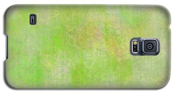 Lime Batik Print Galaxy S5 Case