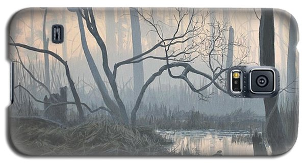 Misty Hideaway - Wood Duck Galaxy S5 Case