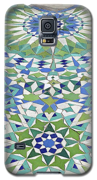 Mosaic Exterior Decorations Of The Hassan II Mosque Galaxy S5 Case