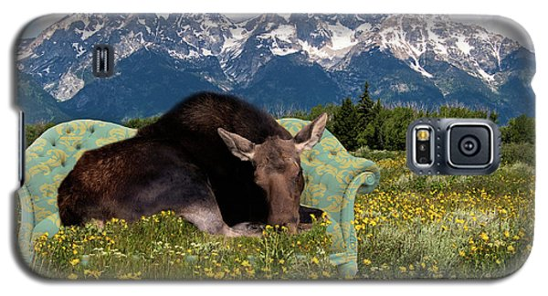 Nap Time In The Tetons Galaxy S5 Case