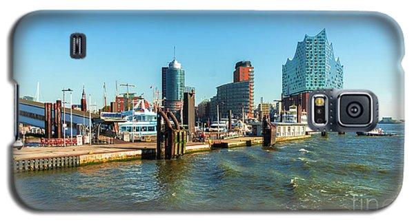 Panoramic View Of Hamburg. Galaxy S5 Case