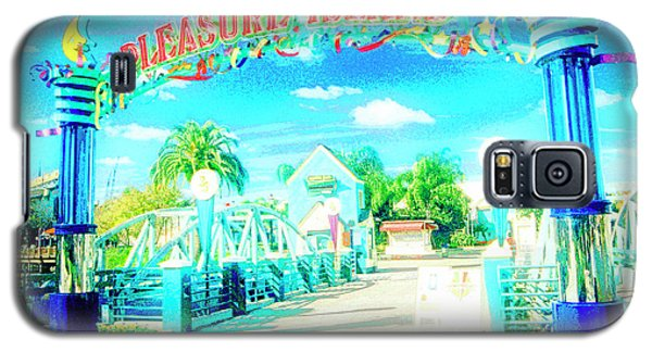 Pleasure Island Sign And Walkway Downtown Disney Galaxy S5 Case