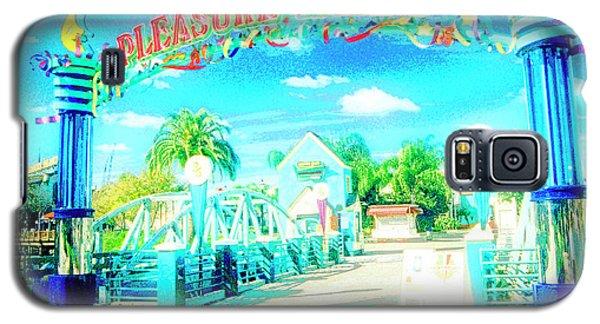 Pleasure Island Sign And Walkway Downtown Disney Galaxy S5 Case