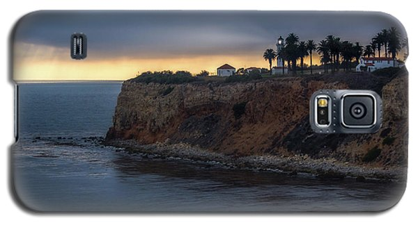 Point Vicente Lighthouse At Sunset Galaxy S5 Case