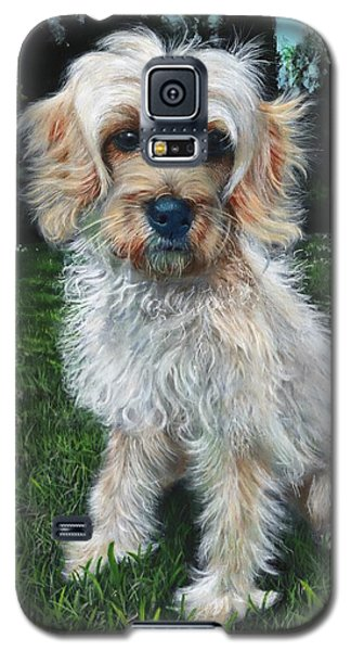 Portrait Of Toffee Galaxy S5 Case