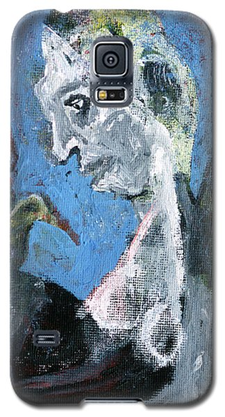 Portrait With A Bird Galaxy S5 Case