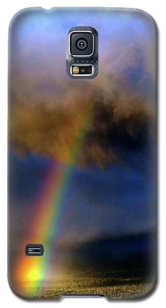 Rainbow During Sunset Galaxy S5 Case