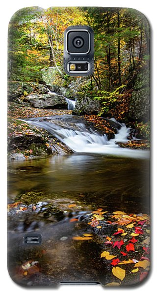 Sandwich Notch Road Waterfall New Hampshire Galaxy S5 Case