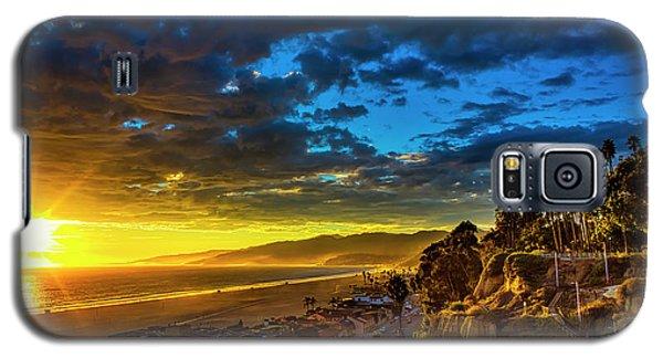 Santa Monica Bay Sunset - 10.1.18 # 1 Galaxy S5 Case