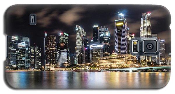 Singapore By Night Galaxy S5 Case