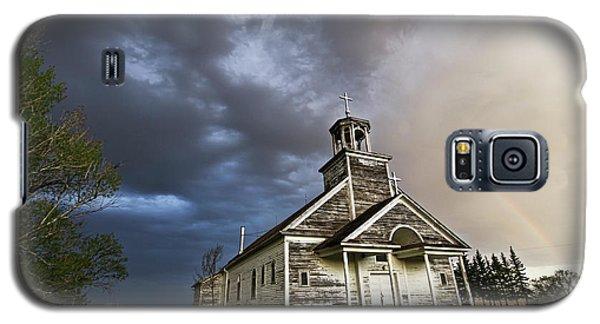 Stormy Sk Church Galaxy S5 Case