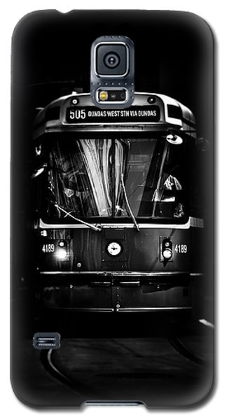 The 505 Dundas Streetcar Toronto Canada Galaxy S5 Case