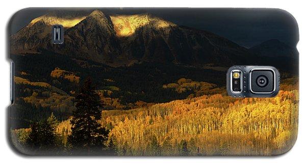 The Golden Light Galaxy S5 Case