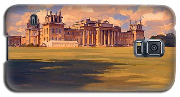 The White Party Tent Along Blenheim Palace Galaxy S5 Case