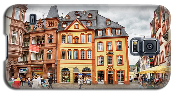 Trier, Germany,  People By Market Day Galaxy S5 Case