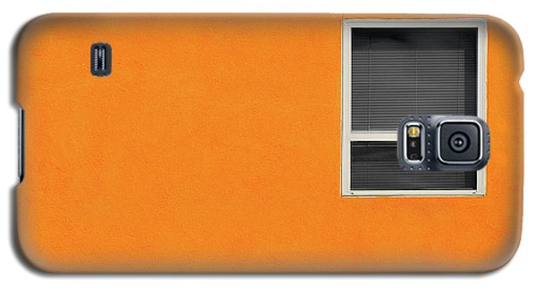 Very Orange Wall Galaxy S5 Case