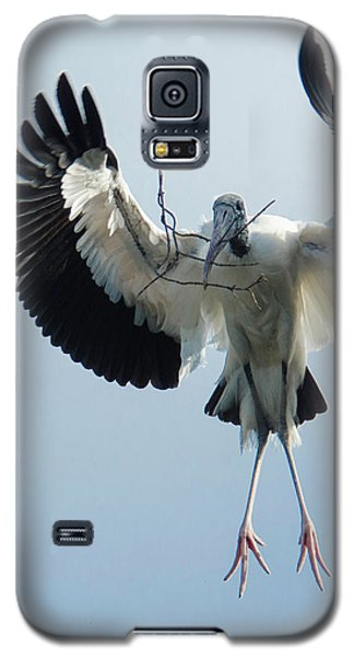 Woodstork Nesting Galaxy S5 Case