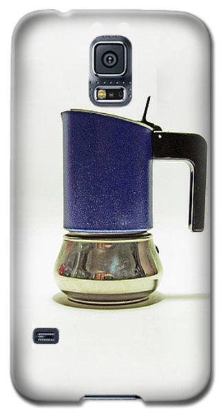 10-05-19 Studio. Blue Cafetiere Galaxy S5 Case
