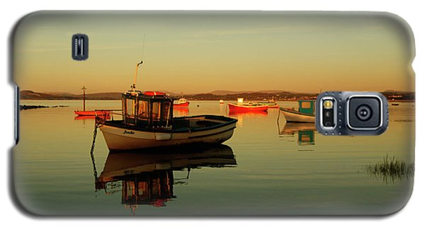 10/11/13 Morecambe. Boats On The Bay. Galaxy S5 Case