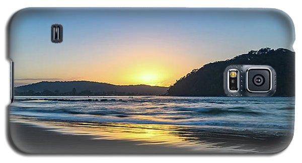 Hazy Sunrise Seascape Galaxy S5 Case