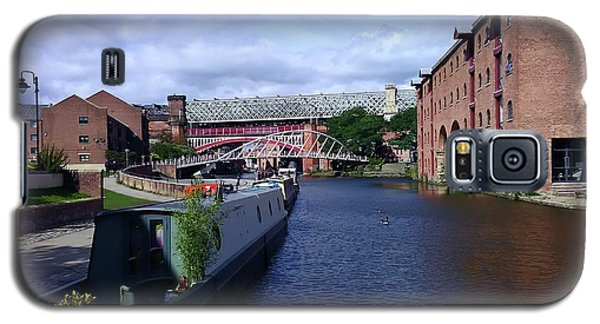 13/09/18  Manchester. Castlefields. The Bridgewater Canal. Galaxy S5 Case