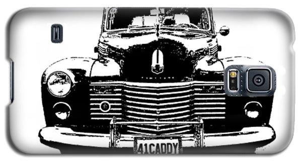 1941 Cadillac Front Blk Galaxy S5 Case