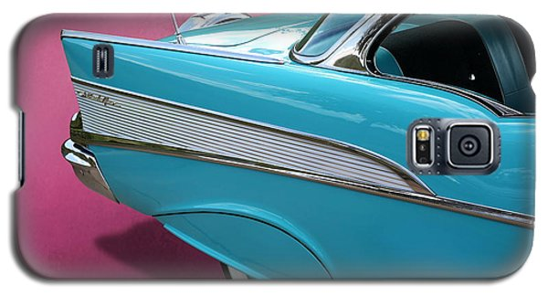 Turquoise 1957 Chevrolet Bel Air Galaxy S5 Case