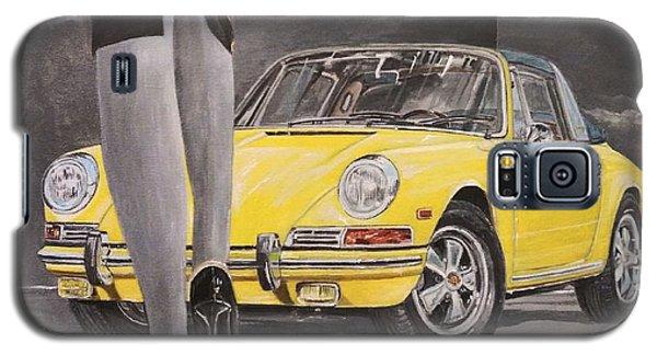 1968 Porsche 911 Targa Galaxy S5 Case