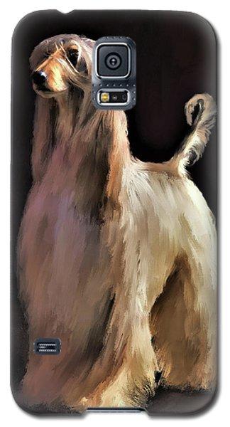 Afghan Hound Galaxy S5 Case