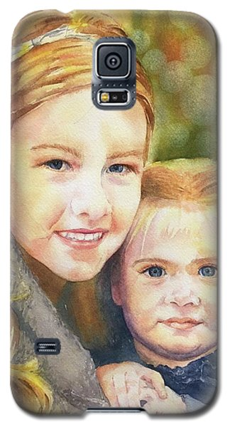 Belle And Maddie Galaxy S5 Case