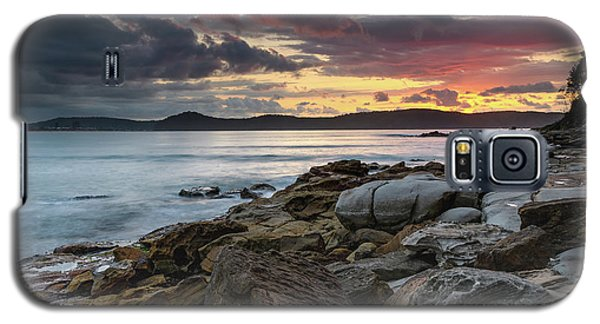 Colours Of A Stormy Sunrise Seascape Galaxy S5 Case