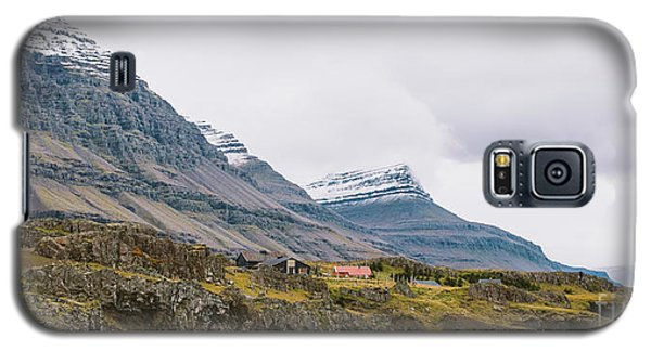 High Icelandic Or Scottish Mountain Landscape With High Peaks And Dramatic Colors Galaxy S5 Case