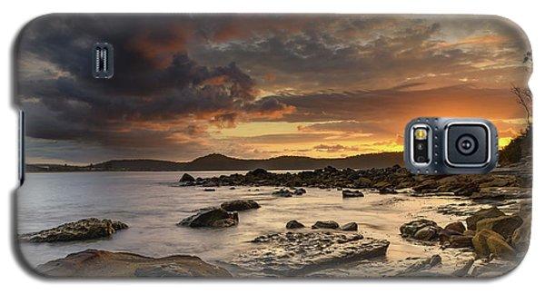 Stormy Sunrise Seascape Galaxy S5 Case