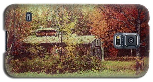 Sugarhouse In Autumn Galaxy S5 Case