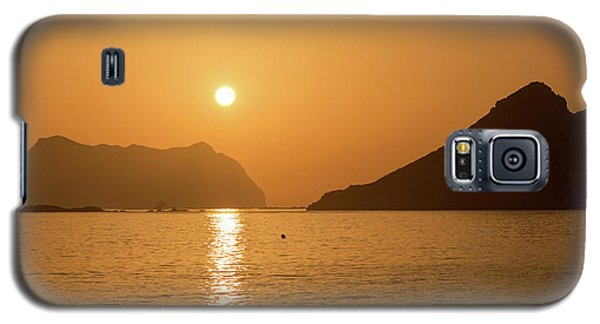 Sunrise On A Beach In Aguilas, Murcia Galaxy S5 Case