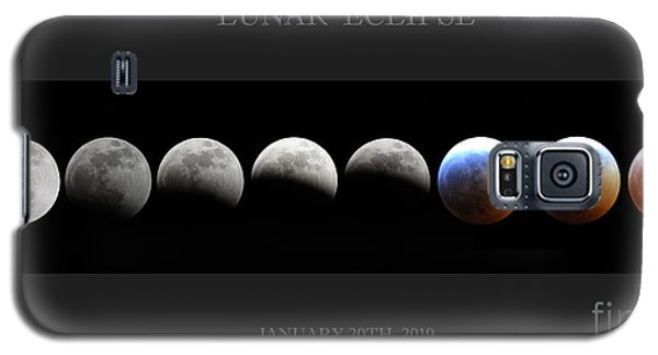 Super Blood Wolf Moon Galaxy S5 Case
