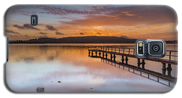 Early Morning Clouds And Reflections On The Bay Galaxy S5 Case