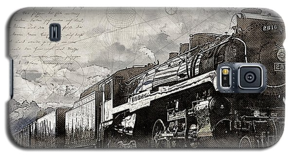 2816 At Banff Siding Galaxy S5 Case