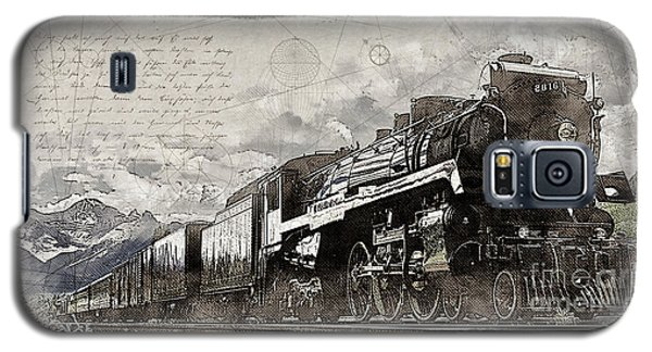 2816 At Banff Siding Galaxy S5 Case