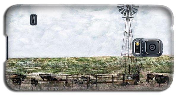 Classic Cattle II Galaxy S5 Case