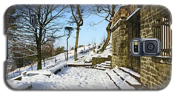 30/01/19  Rivington. Summerhouse In The Snow. Galaxy S5 Case