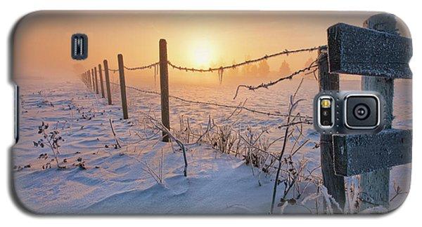 -30 Sunrise Galaxy S5 Case